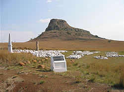 South African Tours with Zafari Tours - Day Trips -  Zululand battlefields